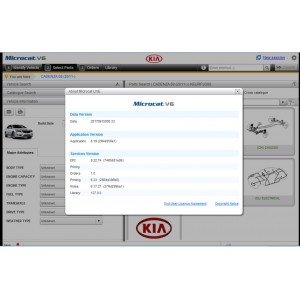 2018.03V Microcat Live EPC for KIA V6 Part Catalog